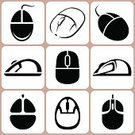 Computer Mouse,Computer Icon,Symbol,Work Tool,Technology,Cable,Computer Part,Equipment,Optical Instrument,PC,Single Object,Computer,Set,Vector,Electrical Equipment,Ilustration,Input Device,Collection
