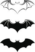 Bat - Animal,Mammal,Symbol,Vampire,Halloween,Black Color,Animal,Vector,Contour Drawing,Three Animals,Ilustration,Spooky,Isolated,Collection,Carnivore,Silhouette,Animals In The Wild,White Background,Flying,Wildlife,Night,Set,White,Mystery,Outline,Wing,Horror,Abstract