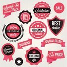 Badge,E-commerce,Coupon,Security,Shape,Connection,Currency,Vector,Red,Label,Business,premium,template,Symbol,Sign,Retail,New