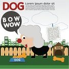 Obedience,Ilustration,Collection,Kennel,Puppy,Vector,Mammal,Small,Pets,Cute,Dog,Large,Friendship,Brown,Wildlife,Fun,Computer Graphic,Canine,Standing,Looking,Animal