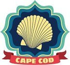 Animal Shell,Cape Cod,Summer,Beach,Scallop,Label,Travel,Luggage Tag,Vacations