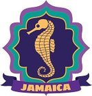Vacations,Sea Horse,Jamaican Culture,Animal Shell,Label,Travel,Luggage Tag,Jamaica