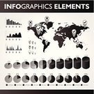 Bar Graph,Data,Symbol,Infographic,Dividing Line,Business,Computer Graphic,Chart,Arrow Symbol,White,Vector,Map,Visualization,Collection,Black Color,Label,Map Pin,Icon Set,Pie Chart,Graph,Diagram,Abstract,Planning,Sign,Modern,Globe - Man Made Object,Design Element,vector icons,Gray,Dark,template,Set,Straight,Percentage Sign,Circle,Analyzing