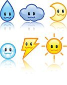 Sun,Cartoon,Lightning,Moon,Water,Cloud - Sky,Weather,Symbol,Manga Style,Drop,Smiling,Smiley Face,Cute,Rain,Snowball,Cheerful,Sign,Computer Icon,Happiness,Push Button,Icon Set,Glass - Material,Computer Graphic,Vector,Fun,Sparse,Meteorology,Internet,Plastic,Forecasting,Shiny,Fog,Season,Cool,Design,Overcast,Clean,Reflection,Snowflake,Night,Illustrations And Vector Art,Part Of,Nature
