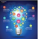 Infographic,Technology,Social Networking,Communication,Light Bulb,Global Communications,Computer Network,Backgrounds,Map,Cartography,Abstract,Symbol,Computer Software,Telephone,Light - Natural Phenomenon,Business,Information Medium,Data,Internet,Success,Ilustration,Computer,Computer Graphic,Creativity,People,Vector,E-Mail,Mobility,Modern,Electric Lamp,template