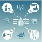 Water,Drinking Water,Infographic,Water Filter,Drop,Water Pipe,Vector,Icon Set,Swimming Pool,Blue,Symbol,Computer Icon,Design Element,Bottle,Glass,Truck,Water Filter Jug,Ideas,Set,Pick-up Truck,Liquid,Ilustration,Blob,Concepts,Pool Game,Sign,template,Corn On The Cob,Whole Wheat,Percentage Sign,resource,Faucet,Delivering,Wheat,Circle,Factory,Silhouette