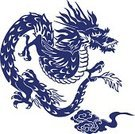 Chinese Dragon,Dragon,Japan,Fantasy,Animal,Japanese Culture,Aggression,Tusk,Imagination,Strength,Asia,Mammal,Flying,Nature,Spirituality,Mystery,Mythology,Cultures,Tattoo,East Asia,Animals In The Wild,Old-fashioned,East Asian Culture,Monster,Toenail,Oriental Style Woodblock Art,Horror