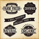 Sign,Farm,Retro Revival,Old-fashioned,Rubber Stamp,Organic,Symbol,Vector,Grunge,Badge,Label,Insignia,Nature,Pattern,certified,Food,Backgrounds,Marketing,Business,Placard,Striped,Backdrop,Design Element,Freshness,Concepts,Decoration,Design,Set,Old,Merchandise,Print,Banner,Clip Art,Paper,Collection