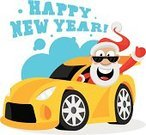 Car,Santa Claus,Driving,Holiday,Men,Christmas,New Year's Day,Supercar,New Year's Eve,Concepts,Surprise,Event,Joy,Travel,Vector,Characters,Eccentric,Suit,Fairy Tale,Caricature,Ilustration,Single Object,Senior Men,Cartoon,Ideas,Ferris Wheel,Fun,Congratulating,Cold - Termperature,Drawing - Art Product,Design,Happiness,Performance,Care,Gift,Composition,Beard,Cheerful,Sunglasses,One Person,Positive Emotion,Winter,Only Senior Men,Road Trip,White Background,Hat,Smiling,New Year,Mustache