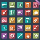 Computer Icon,Construction Industry,Flat,Building - Activity,Traffic Cone,Work Tool,Repairing,Equipment,Architecture,Wrench,Axe,Trowel,Ruler,Truck,Paperwork,Shovel,Bulldozer,Working,Design,Planning,Beginnings,Vector,Paintbrush,Set,Spanner,Interface Icons,Hand Saw,Hammer,Humphrey Bogart,Restoring,Screwdriver,Drill,Crane - Construction Machinery,Long Shadow,Personal Accessory,Internet,Work Helmet