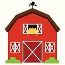Barn,Urban Scene,Farm,Non-Urban Scene,Red,Isolated,Weather Vane,Rural Scene,Backgrounds,Education,Farmhouse,Landscape,House,Landscaped,Architecture,Vibrant Color,red barn,Design Element,Barn Wall,Backdrop,Building Exterior,Outdoors,Door,Old,Nature,Vector,Equipment,Window,Background Design,Cartoon,Country Road,Old-fashioned,Built Structure,Land,Hay,Construction Industry,Agriculture,barn door,barn yard