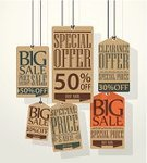 Retro Revival,Old-fashioned,Announcement Message,Market,Newspaper,Typescript,Wealth,Luggage Tag,Label,Hanging,Sale,Paper,Computer Graphic,Selling,Shopping,Part Of,Buying,Message,Document,Promotion,Special,Symbol,Season,Business,Vector,Disbelief,Commercial Sign,Low,Reduction,Design,Giving,Merchandise,Price,Internet,Flyer,Collection,Marketing,Retail
