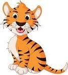 Tiger,Cub,Cute,Smiling,Brown,Small,Clip Art,Undomesticated Cat,Tropical Rainforest,Forest,Happiness,Single Object,Childhood,Cheerful,Cartoon,Zoo,Animal Mouth,Joy,Art,Comic Book,Ilustration,Fun,Making a Face,Characters,Toy,Mascot,Isolated,Animal,Animals In The Wild,Wildlife,Looking At Camera,Design,Mammal,Safari Animals,Manga Style,Posing,Vector,Painted Image,Young Animal,Sitting