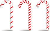 Candy Cane,Christmas,Candy,Peppermint,Vector,Holiday,Isolated,Sugar Cane,Striped,Cultures,Food,Design,Spiral,Eat,Shape,Red,Colors,Gift,Twisted,Dessert,Cane,Stick - Plant Part,White Background,Isolated On White,Set,Sweet Food,Sugar