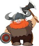 Viking,Cartoon,History,Suit of Armor,Red,Mustache,Work Helmet,Armed Forces,Barbarian,Hatchet,Ancient Civilization,Warrior,Men,Shield,Tomahawk,Hide