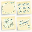 Adhesive Note,Note Pad,Thank You,Religious Icon,Office Interior,Paper,Mail,Gratitude,Tally Chart,Tic-Tac-Toe,Sticky,Smiley Face,Sign,Handwriting,Vector,Yellow,Backgrounds,Scoreboard,Advice,Reminder,Counting,Leisure Games,Voting,Writing,Memories,Text,Design,Communication,Information Medium,Drawing - Art Product,Blank,Secrecy,Data,Conformity,Isolated,Individuality,Message,Pencil Drawing,Attached,Empty,Copy Space,Announcement Message,Correspondence,Close-up,Architecture And Buildings,Concepts And Ideas,Communication,Office Buildings