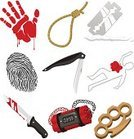 Blood,Eye,Authority,Security,Risk,Razor,Death,Symbol,Sign,Rope,Justice - Concept,Human Body Part,Human Eye,Book,Design,Handgun,Dead Person,Magnifying Glass,Police Force,Computer Icon,Law,Bomb,Sherlock Holmes,Fingerprint,Gavel,Surveillance,Illustration,Security Staff,Bombing,Chalk Outline,Criminal Investigation,Crime Scene,Part of a Series,Brass Knuckle,Vector,Knuckle,Knife - Weapon,Security System,Criminology,Body Shape,Bloody Hand,Dead,Clip Art,smoking gun,Bloody Knife,Icon Set,hanging rope,Brass Knucles,Dead Body Police Crime Scene,Police Crime Scene,Bloody Hand Print,Dead Man On The Floor,Dead Body Shape