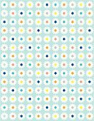 Innocence,Ilustration,Digital Display,Cute,Symmetry,Computer Graphic,Vector,Daisy,Small,ditsy,light blue,Sweet Food,Loving,Summer,Fun,Repetition,Springtime,Flower,girlie,repetion,Vintage Looking,Seamless,Vertical,Old-fashioned,White,Yellow,Orange Color,Gray,Blue,Multi Colored