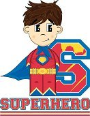 Funky,Characters,Vector,Ilustration,Letter S,Single Word,Heroes,Teaching,Suit,Clip Art,Education,Strength,Fun,Alphabet,Superhero,Learning,Flying,One Person,Power,superboy,Boot,Smiling,Cute,Cartoon,Disguise,Cape,Comic Book,Belt,Crime Fighter