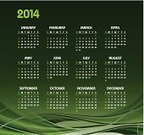 Calendar,2014,Green Color,Monthly,Computer Graphic,Backgrounds,Abstract,November,Monday,Wave Pattern,Weekend Activities,Ilustration,Month,August,April,Eps10,February,template,Sunday,June,Wednesday,Calendar Date,Friday,October,Modern,Elegance,Planning,Curve,Shape,Dark,Personal Organizer,Day,White,December,September,March,Year,January,Saturday,May,Tuesday,July,Thursday,Vector