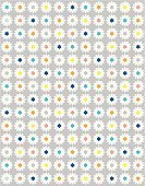 Daisy,Cute,Symmetry,Computer Graphic,Fun,Ilustration,Vector,girlie,repetion,Springtime,Flower,Vertical,Repetition,Innocence,Digitally Generated Image,Small,Summer,Sweet Food,light blue,Old-fashioned,Blue,Yellow,Multi Colored,White,Orange Color,Gray,Vintage Looking