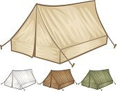 Tent,Camping,Computer Graphic,Vector,Ilustration