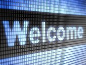 Welcome Sign,Greeting,Single Word,Blue,Hello,Technology,Color Image,Colors,Black Color,Computer,Digitally Generated Image,Control Panel,Electrical Equipment,Bright,Luminosity,Concepts,Macro,Shiny,Design,Three Dimensional,Vibrant Color,Visual Screen,Text,Morning,Text Messaging,Internet,Symbol,Style,Three-dimensional Shape,Modern,Hawaii Islands,Communication,Illuminated,www,Computer Graphic,Sign,Digital Display,Ilustration,Liquid-Crystal Display,Pixelated,Computer Network,Computer Monitor,Retail Display,Glowing,Cartoon