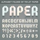 Paper,Alphabet,Abstract,Folded,Number,Question Mark,Art,Learning,Exclamation Point,Decoration,Ribbon,Isolated,Perforated,Latin Script,Cultures,Material,Toilet Paper,Symbol,Ideas,polygonal,Book Symbol,Arabic Numerals,Modern,Alphabetical Order,Origami,Single Word,Punctuation Mark,Hyphen,Dotted Line