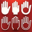 Symbol,Computer Icon,Human Hand,Handshake,Business,Isolated,Assistance,Stop Sign,Palm,People,Outline,Stop Gesture,Silhouette,Communication,Computer,White,Direction,Fist,Painted Image,Single Line,Ilustration,Web Page,Abstract,Open,Global Communications,Interface Icons,Red,Connection,Striped,Cursor,Body Care,Design,Human Finger,Concepts,Backgrounds,Sign,Ideas,Moving Up,Teamwork,Set,Icon Set,Computer Graphic,Outline Icon,Thumb,Internet,Vector,Technology