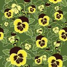 Pansy,Pattern,Ilustration,Celebration,Image,Textile Industry,Botany,Petal,Postcard,Art,Color Image,Flower,Ornate,Natural Pattern,Fabric Design,Elegance,Wallpaper Pattern,Backgrounds,Shape,Decor,Season,Old-fashioned,Symbol,Green Color,Computer Graphic,Growth,Sewing Pattern,Painted Image,Textured Effect,Beauty In Nature,Floral Pattern,Vector,Beautiful,Sparse,Single Flower,Morning,Leaf,Nature,Yellow,Clip Art,Concepts,Seamless,Design,Textile,Springtime,Modern,Decoration,Graphic Print