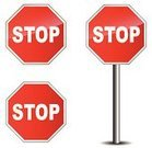 Stop Sign,White,Red,Shape,Danger,Backgrounds,Shiny,Security,Direction,Lane,Traffic,Driving,Symbol,Warning Sign,Transportation,Street,Text,Law,Vector,Information Medium,Metal,Stop,Highway,Ilustration,Single Object,Pattern,In Front Of,Design,Isolated,Sign,Road Sign,Reflection,Road,Computer Graphic