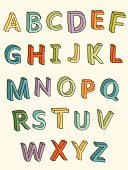 Elementary School,Alphabet,Typescript,Fun,Child,Pastel Colored,Multi Colored,Colors,Three-dimensional Shape,Text,Simplicity,Education,Letters Alphabet,hand drawn,Color Image,Vibrant Color,typographic,Three Dimensional,Drawing - Art Product,Alphabetical Order,Sketch,Vector,Doodle