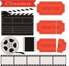 Movie Ticket,Frame,Movie,Movie Theater,Backgrounds,Symbol,Ticket,Camera Film,Director,Ilustration,Camera - Photographic Equipment,Collection,Film Slate,Black Color,Cinematographer,Television Broadcasting,Design,Entertainment,Performance,Flat,Film Reel,Vector,Motion,Computer Graphic,Part Of,Television Set,Icon Set,Video,Clapping,Visual Screen,Film,Single Object,Multimedia,Film Industry,Retro Revival,Set