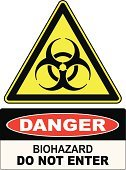 Toxic Substance,Danger,Warning Sign,Sign,Bacterium,Ilustration,Biohazard Symbol,Time Zone,Ruler,biologic,Alertness,Vector,Epidemic,Care,Research,Residential District,Symbol,Science,Yellow,Backgrounds,Forbidden,Biology