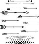 Feather,Design Element,Set,Design,Black And White,Vector,Ornate,Tattoo