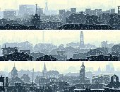 Urban Scene,City,Winter,Snowing,Silhouette,Urban Skyline,Panoramic,Horizon Over Land,Horizon,Snowflake,Roof,Set,House,Banner,Ilustration,Landscaped,Abstract,Cityscape,City Life,Vector,Morning,Horizontal,Placard,Backgrounds,Art,Downtown District,Built Structure,Cold - Termperature,Construction Industry,Window,Snow,Frost,Architecture,Street