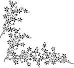 Flower,Vine,Floral Pattern,Black And White,Frame,Simplicity,Pattern,Classic,Silhouette,Backgrounds,Modern,Vector,Leaf,Ornate,Decoration,Art,Copy Space,Design,Computer Graphic,Creativity,Ilustration,Plants,Abstract,Nature