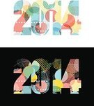 2014,New Year's Day,New Year's Eve,Typescript,Funky,Placard,Christmas,Banner,Vector,Ilustration,Sparse,Celebration,Design Element,Abstract,Design,Ideas,Modern,Creativity,Pattern,Symbol,Traditional Festival,Shape,Surprise,Art,Announcement Message,Text,Youth Culture