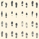 Footprint,High Heels,Shoe,Vector,Shoe Print,Human Foot,bootprint,Track,People,Walking,Boot,Computer Graphic,footmark,Direction,Men,Boot Tracks,Outdoors,footmarks,Identity,Pair,Variation,Collection