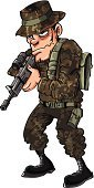 Army Soldier,War,Army,Weapon,Gunman,Action,Alertness,Aiming,Gun,Frowning,Exploding,Heroes