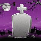 Tomb,Backgrounds,Christianity,Funeral,Gothic Style,Grief,Halloween,Owl,Tree,Death,Place of Burial,Tombstone,Moonlight,Spider,Night,editable,Vector,Spooky,Witch,Ilustration,Evil,Cemetery