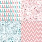 Seamless,Pattern,Zigzag,Paisley,Doodle,Backgrounds,Triangle,Wrapping Paper,Lace - Textile,Scrapbook,Old-fashioned,Design Element,Set,Wallpaper Pattern,Ornate,Drawing - Art Product,Flower,Textured Effect,Decoration,Floral Pattern,Textured,Wave Pattern,Ilustration,Collection,Vector,Fashion,hand drawn,Design,Leaf,Nature,Abstract