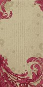 Backgrounds,Flower,Floral Pattern,Baroque Style,Retro Revival,Dirty,Grunge,Old-fashioned,Art,Vector,Deco,Textured,Abstract,Ornate,Design,Victorian Style,Design Element,Red,Ilustration,Textured Effect,Renaissance,Beauty,Herb,Antique,Modern,Paint,Art Deco,Style,Drawing - Art Product,Computer Graphic,Growth,Leaf,Cultures,Plant,Creativity,Spotted,Painted Image,Color Image,Classical Style,Vertical,Nature,Colors,Beautiful,Beauty In Nature,Outline,Blob,Petal,Copy Space,Stroking,Curled Up,Grooved,Illustrations And Vector Art,Nature,Cherry Coloured,Vector Ornaments,Vector Backgrounds,Plants