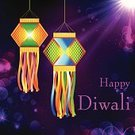 Diwali,Abstract,Ornate,Hanging,Ilustration,Lantern,Celebration,editable,Decoration,Season,Vector,Greeting,Hinduism,Night,Candle,Electric Lamp,Ganpati,Cultures,Shiny,Luck,Spirituality,Multi Colored,Backgrounds