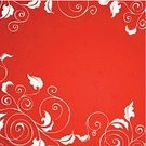Red,Flower,Backgrounds,White,Floral Pattern,filigree,Swirl,Copy Space,Scroll Shape,Fashion,Intricacy,Textured,No People,Vector,Springtime,Retro Revival,Design,Paint,Freshness,Summer,Art,Grass,Inspiration,Ornate,1940-1980 Retro-Styled Imagery,Color Image,Ideas,Abstract,Complexity,accent,Ilustration,Beauty,Plant,Leaf,Elegance,Style,Botany,Embellishment,Curve,Concepts,Nature,Image,Decoration