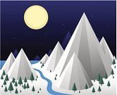 Snowflake,Mountain Range,Mountain,Non-Urban Scene,Season,Star - Space,Holiday,Frozen,Pine Tree,Wind,Snowing,Christmas Decoration,blue sky,Star Shape,Snow Illustrations,White,Winter Illustrations,winter night,Backgrounds,winter illustration,Winter Night Scene,Ice,Cold - Termperature,Winter,Landscape,Full Moon,Autumn,Nature,Blue,Travel Destinations,Vacations,River,Frost,Frost Season,New Year Eve,Cold Illustration,Cool,Winter Decoration,Snow,flakes,Blue Opened Sky