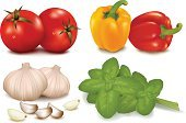 Vegetable,Tomato,Color Image,Ilustration,Vector