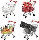 Shopping Cart,Color Image,Ilustration,Vector