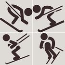 Skiing,Computer Icon,Symbol,Ski,Sport,Alpine Skiing,Set,Speed,Fun,Activity,Cold - Termperature,Mountain,Snow,Slalom Skiing,Season,Winter,People,Vector,Sign,Equipment,Interface Icons,Ice,Rock - Object,Jumping,Ilustration,Extreme Sports,Picking Up
