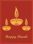 Traditional Festival,India,Indian Ethnicity,Indian Culture,Religion,Indian Subcontinent Ethnicity,Greeting,Heat - Temperature,Hinduism,Yellow,Decoration,Flame,Pattern,Greeting Card,Spirituality,Celebration,Cultures,Flower,Fire - Natural Phenomenon,Design,Red,Diwali,Ornate,Glowing,Knick Knack,Vector,Oil Lamp